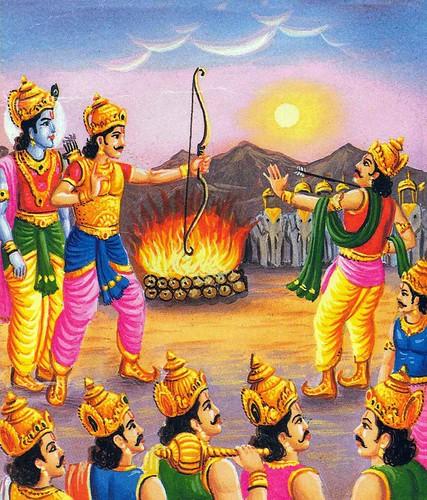 Mahabhrath Arjuna Sapadh | by william2021