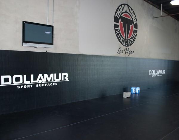 Dollamur Mats in the Las Vegas Throwdown Training Center