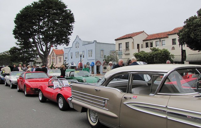 Automobiles at the Pacific Grove Auto Rally