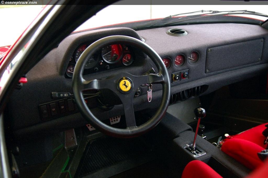 Ferrari F40 Dash 2