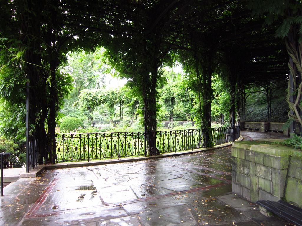 Conservatory Garden/ Central Park  Italian Garden Wisteria Pergola | By  Dave O.
