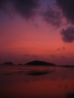 Sunset at Devbagh Jungle Beach Resort!!! | by Natesh Ramasamy
