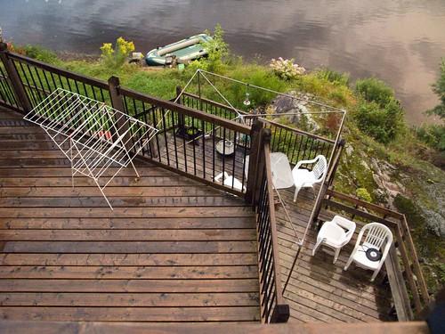 canada quebec cottage down patio deck stcolomban laurentides mariemarthegagnon