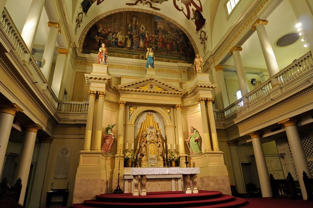 Altar catedral de San Luis