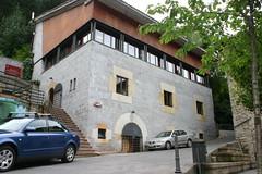 Fachada del edificio desde un lateral. Nueva ubicación de la Oficina de Información Juvenil OIJ