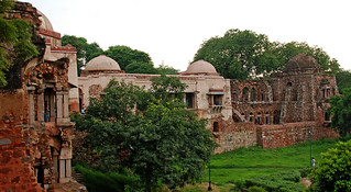 Double-storeyed madrasa at Hauz Khas | by lightmeister