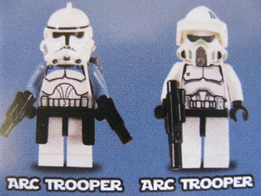 Lego Star Wars Set Bilder 2012 Welle 9488 Arc Trooper Co Flickr