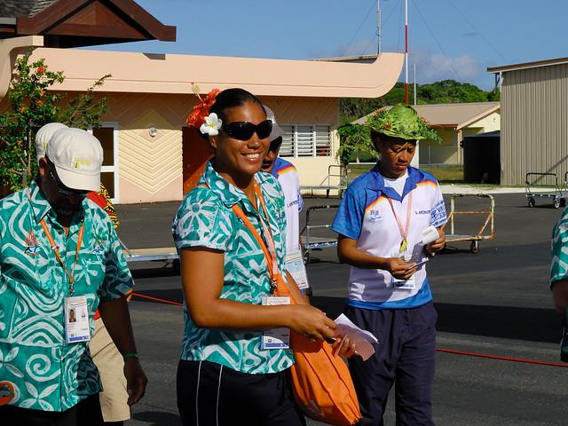 XIVème Jeux du Pacifique, Tepori  RONGOKEA, beach-volley