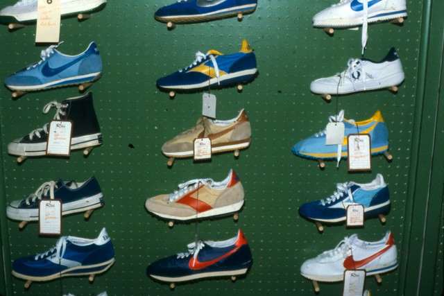 Sneaker Display, Early 80's