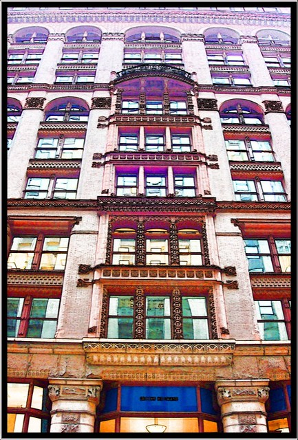 Chicago IL ~ Rookery Building  ~ Facade