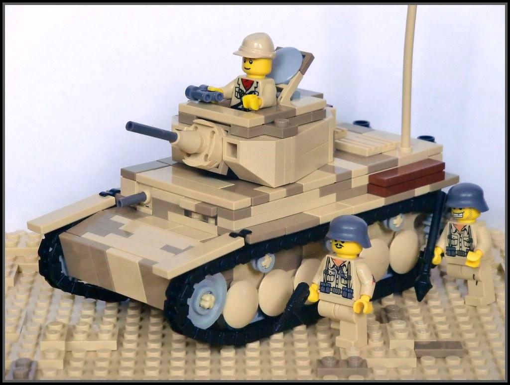 73e3deb6eb532 Lego ww2 -Desert Camo Panzer III Ausf.E-   So this is my fir…   Flickr