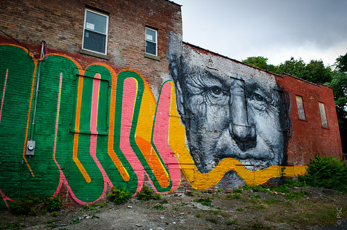 Gaia & Nanook - Livingston Avenue Mural | by PaulTakesPhotos