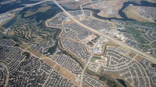 Aerial, Indian Creek near Dallas | by La Citta Vita