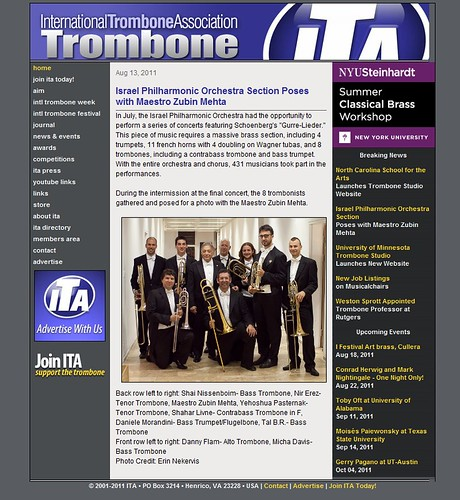 Bad to the Bone in the ITA! | by NewYorkBrass