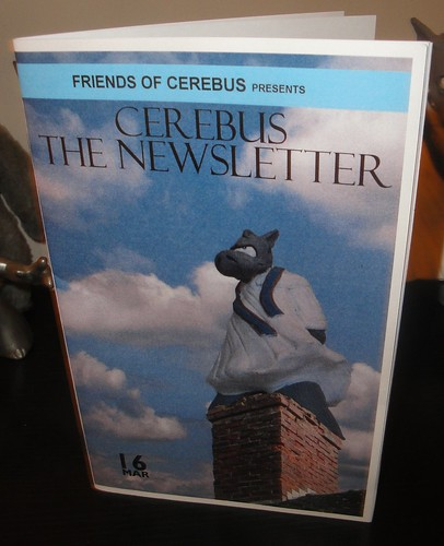 Cerebus the Newsletter #16 2nd printing | by cerebusfangirl