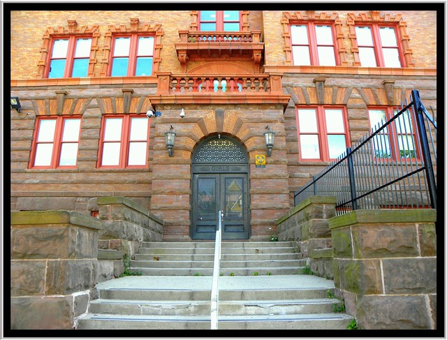 Buffalo NY ~ Lafayette High School ~ Girls Entrance