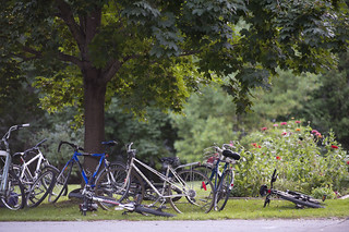 Bikes outside the Church | by Sturgeon Point Union Church