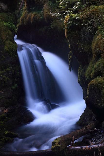 My favorite shot of Virgin Creek Falls