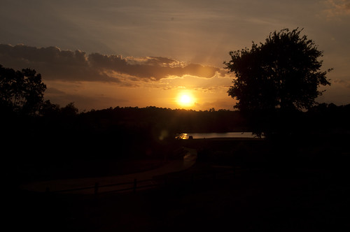 sunset landscape evening ravennestgolfcourse ourdailychallenge