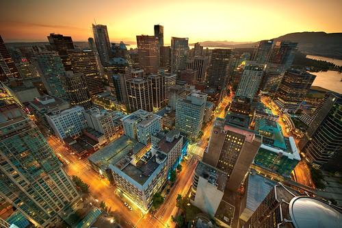 Downtown Vancouver Sunset | by MagnusL3D