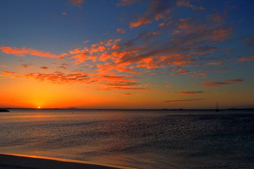 ocean sea sun clouds sunrise australia ripples southernocean westernaustralia esperance