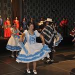 Tue, 07/19/2011 - 19:53 - Participación especial del Grupo Copihual de la Fuerza Aérea de Chile, durante la recepción de bienvenida de la VII Conferencia Sub-Regional en Santiago de Chile