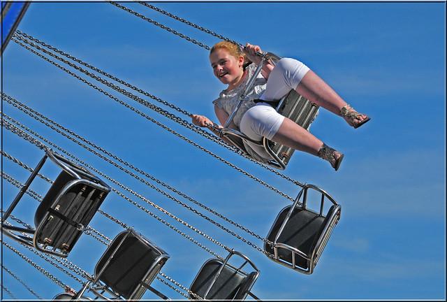FLYING HIGH HANNAH from Flickr via Wylio