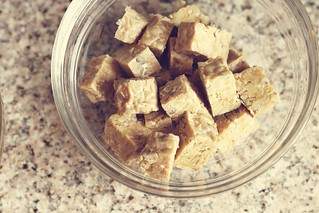 cubed tempeh | by Stacy Spensley