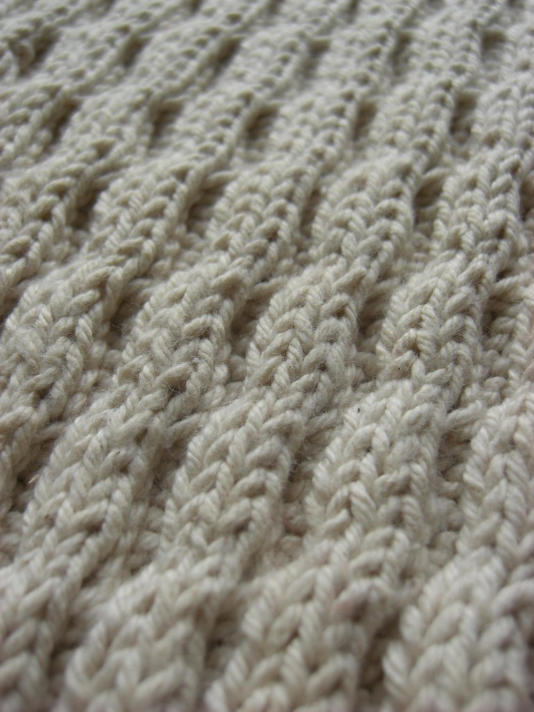 Diagonal Wave | A Treasury of Knitting Patterns Barbara G ...