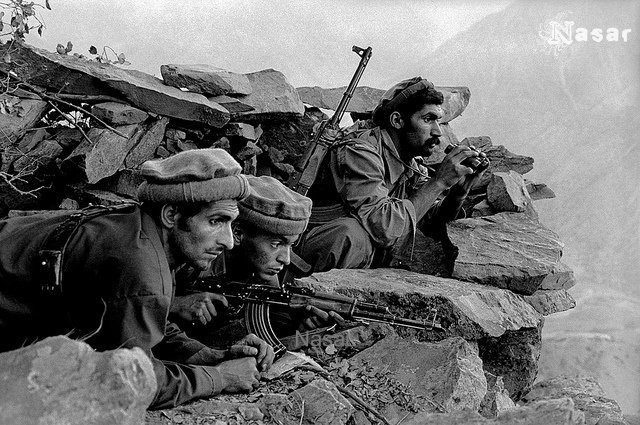 Mujahideen Waiting for Soviet Army | Afghan-Soviet war 1979-… | Flickr
