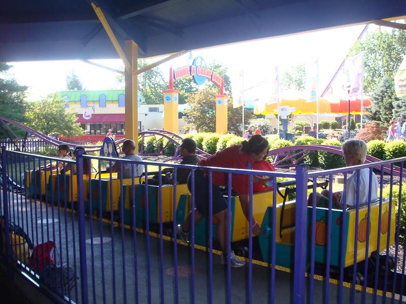 Great Pumpkin Coaster at Kings Island