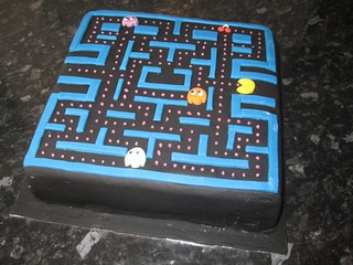 Pacman birthday cake | by Brazen J