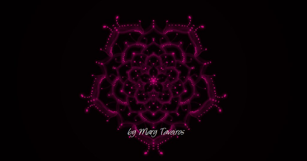 Mandala The Mummers Dance Desenho By Mary Taveiros Flickr