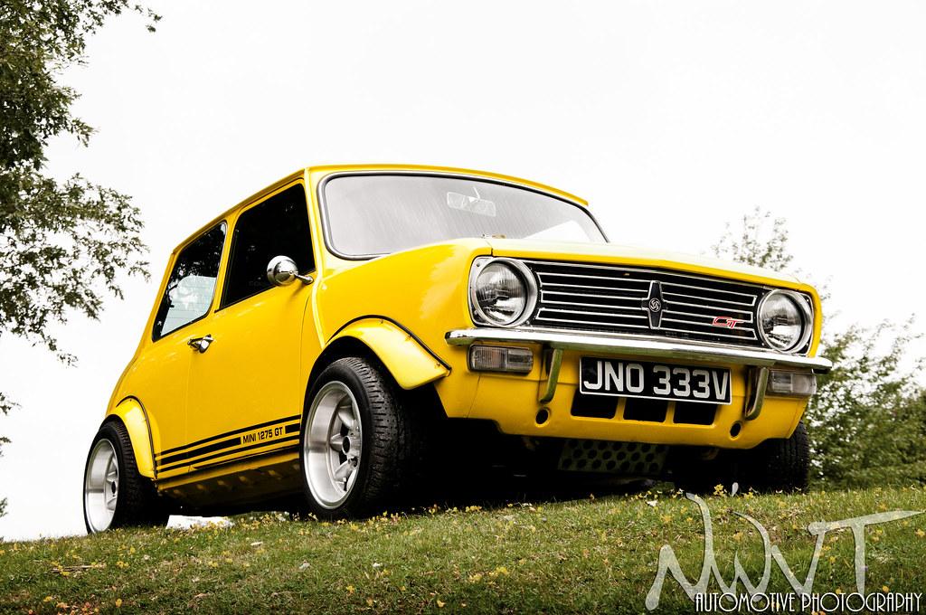 Yellow Classic Mini Clubman 1275 Gt Yellow Classic Mini Cl Flickr
