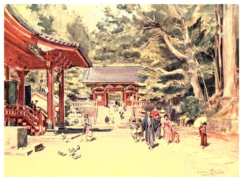 016- El santuario de Nikko-Japan & the Japanese 1910- Walter Tyndale | by ayacata7