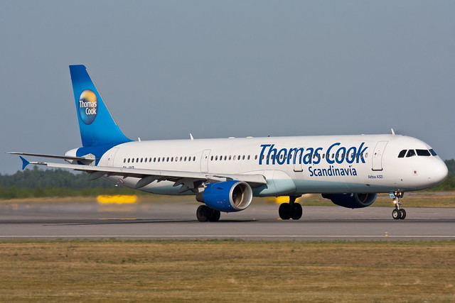 Thomas Cook Airlines Scandinavia - OY-VKB - Airbus A321-211