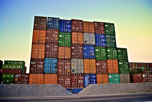 Containers Building | by Tristan Taussac