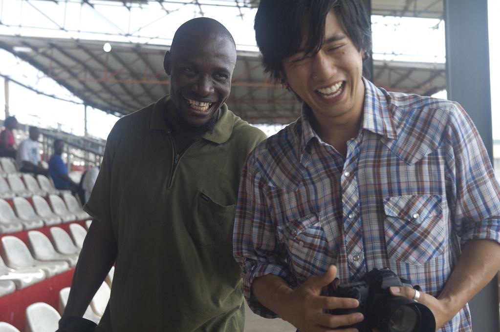 Behind the Scenes – Together Liberia – Bob Miller