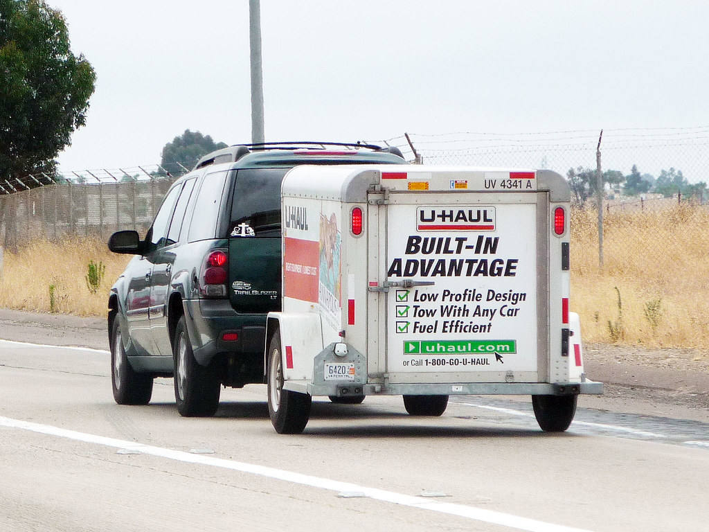 Small Uhaul Trailer | David Valenzuela | Flickr