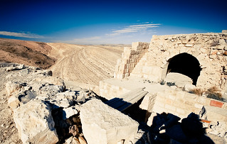 Shobak castle surrounds | by tomsbiketrip.com