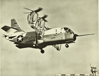 XC-142 4-engine vertical take-off aircraft NHHS Photo | by San Diego Air & Space Museum Archives