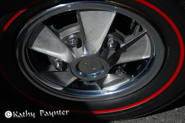 Chevy Red Walled Tire