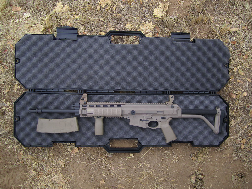 Robinson XCR FDE Duracoat | This a friend's rifle  It had is… | Flickr