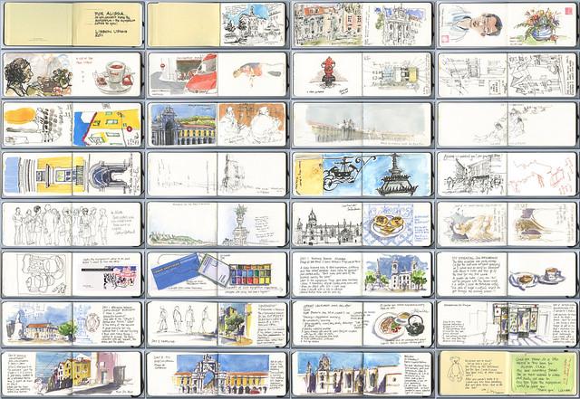 Urban Sketchers Symposium comes to me