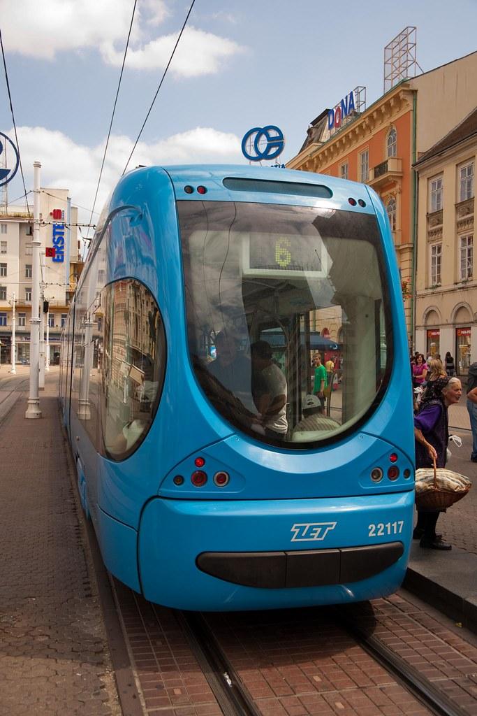 Zagrebacki Elektricni Tramvaj Zet Zagreb Croatia Flickr
