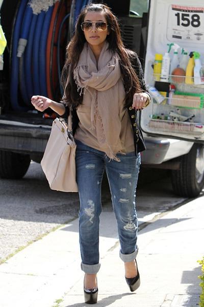44d715c43f3 Kim Kardashian: Christian Louboutin- Black Daffodile   Flickr