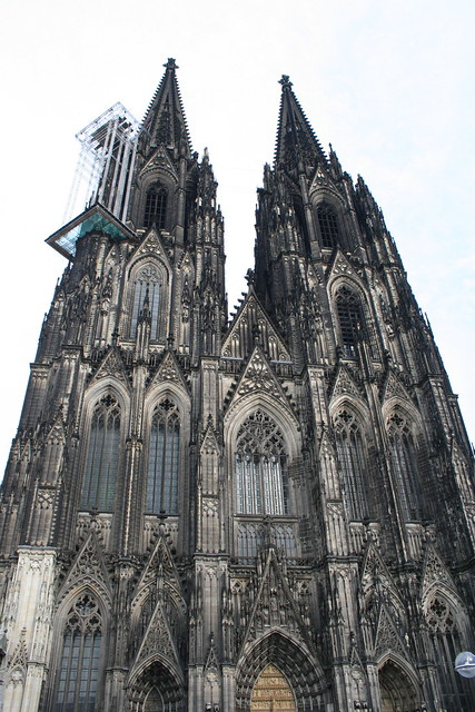 Cologne has a huge cathedral
