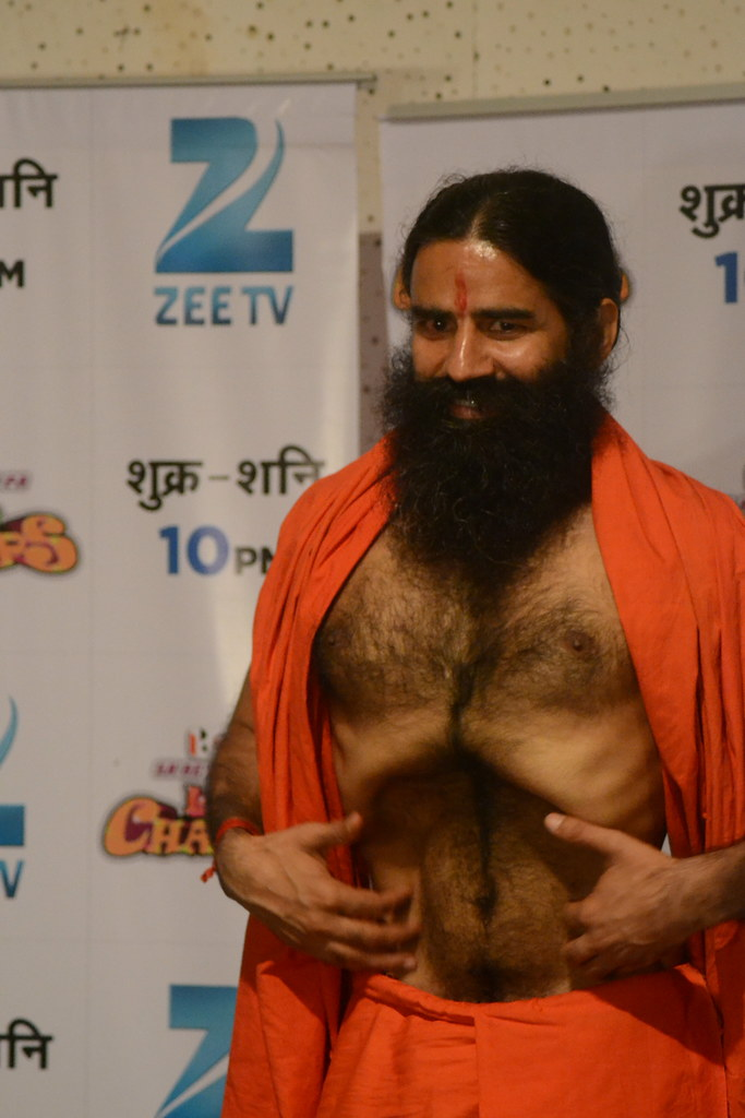 A Wonder Man Called Baba Ramdev From Wikipedia The Free E Flickr