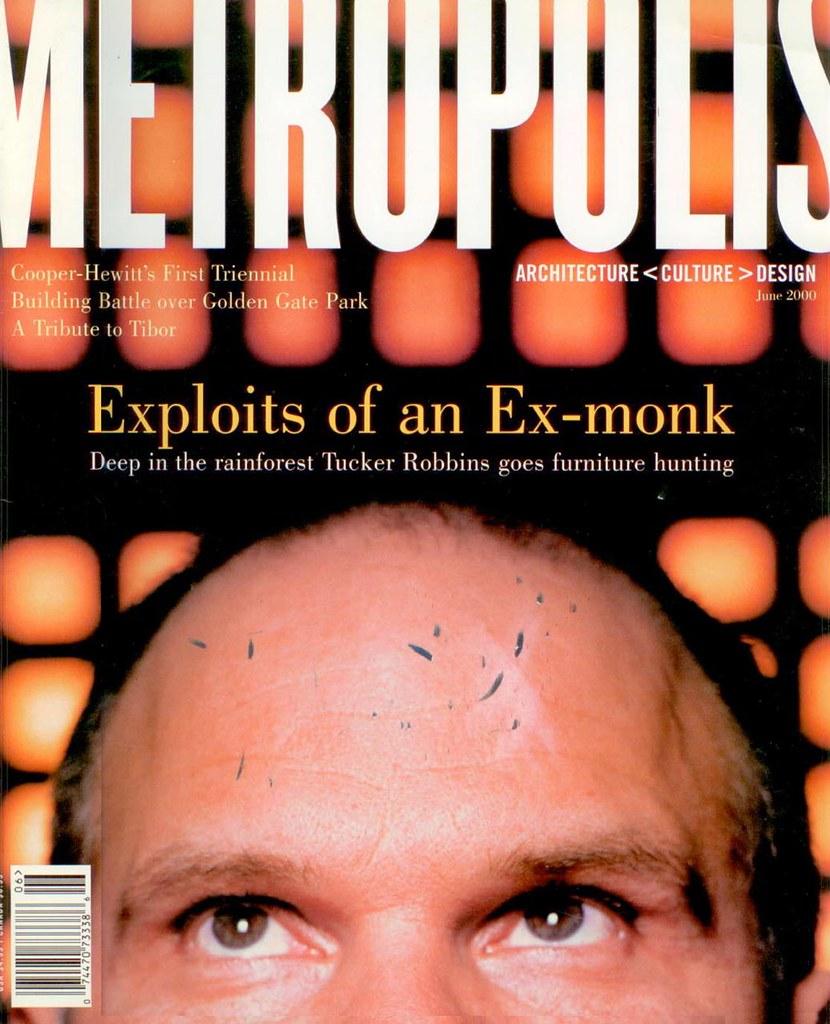 Metropolis Magazine, June 2000 cover | Metropolis Magazine, … | Flickr