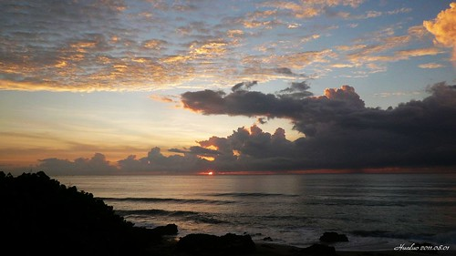 sunrise 墾丁 日出 恆春半島 風吹砂